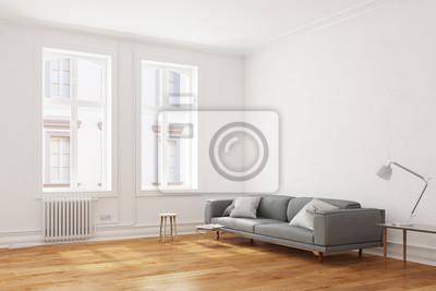 Sofa In Einem Wohnzimmer Leinwandbilder Bilder Innenraume Altbau