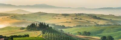 Bild Sommerlandschaft der Toskana, Italien.
