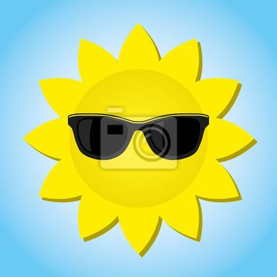 Bild Sonne Vektor-Bild