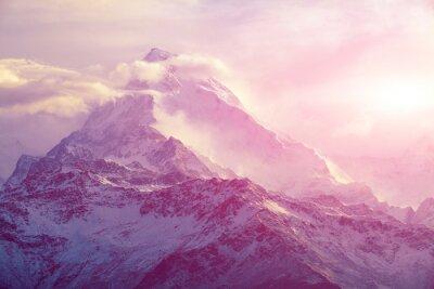 Bild Sonnenaufgang in den Bergen
