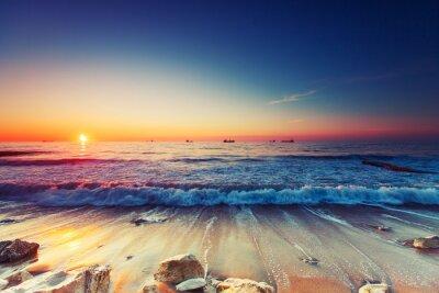 Bild Sonnenaufgang über dem Meer