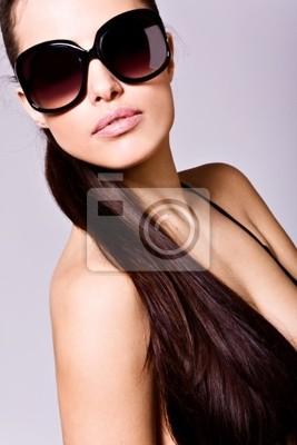 Sonnenbrille Porträt