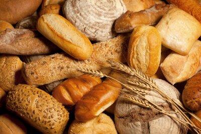 Bild Sortiment von Brot mit Weizen