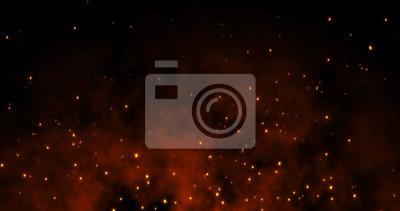 Bild Sparks fly on a black background