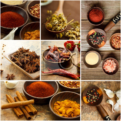Spice Collage