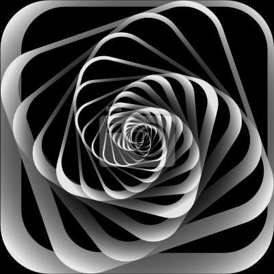 Spiral Bewegung. Abstrakt Hintergrund.
