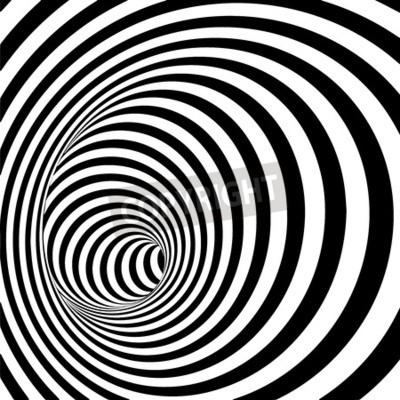 Bild Spiral Striped Abstrakten Tunnel Hintergrund. Abbildung