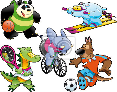 Sport und Tier