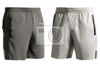 Bild Sports shorts isolated on white + clipping path