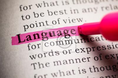 Bild Sprache