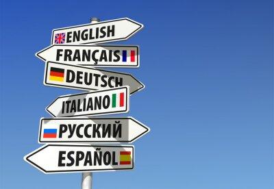 Bild Sprachen-Wegweiser