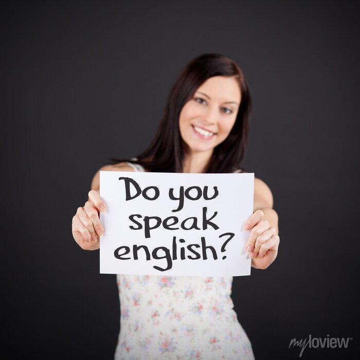Bild Sprechen Sie Englisch ?