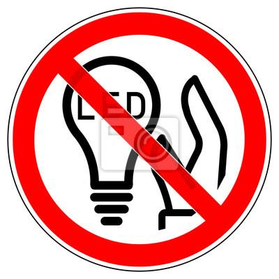 Srr327 Signroundred Deutsch Zeichen Die Led Lampen Konnen