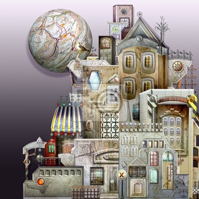 Stadt Labyrinth