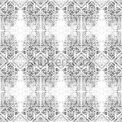 Bild Stammes-nahtloses Muster. Handgemalte Aquarellbeschaffenheit. Grunge abstrakten Hintergrund