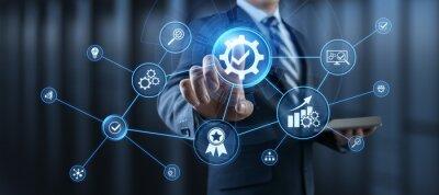 Bild Standard ISO quality control assurance standardisation certification