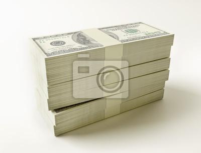 Stapel von 100 $-Scheine