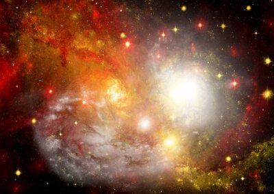 Bild Star-Bereich im Raum und ein Nebel