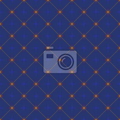 Star-patterned blue background