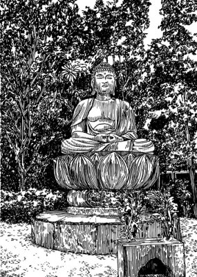 Bild Stein Buddha