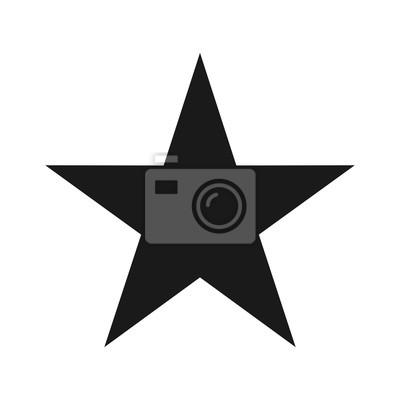 Bild Stern Vektor-Logo. Alleine stern