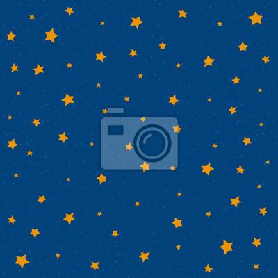 Sterne am Nachthimmel, Hintergrund Illustration Kunst, Vektor
