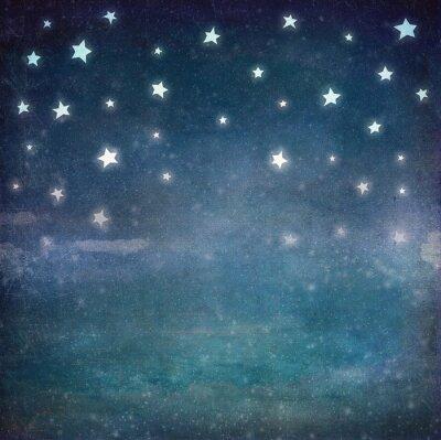 Bild Sterne nachts grunge Himmel, Hintergrund