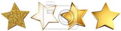 Bild Sterne-Set - Gold