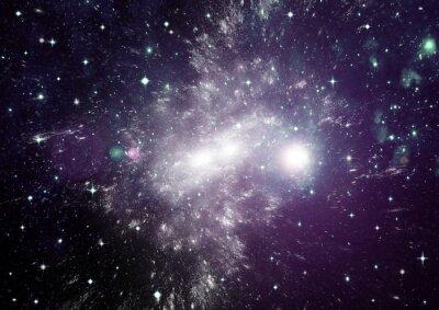 Bild Sterne, Staub und Gasnebel in einer weiten Galaxie