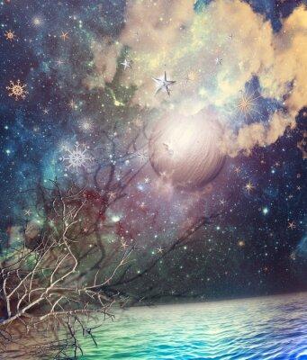 Bild Sternenhimmel im Meer
