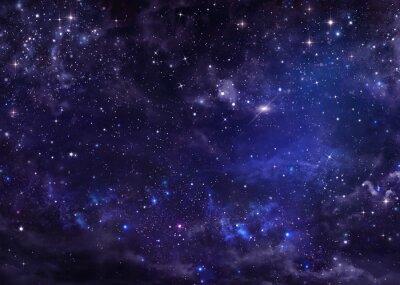 Bild Sternenhimmel Nacht Himmel tiefen Weltraum