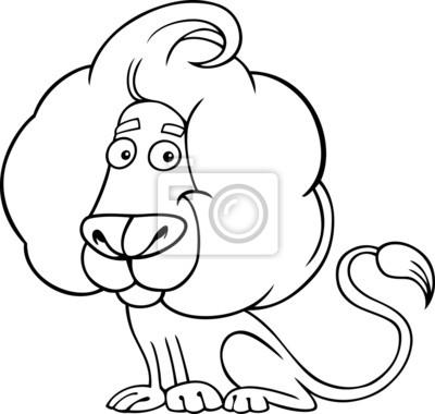 Bild Sternzeichen Löwe Oder Löwen Malvorlagen