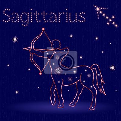 Sternzeichen Schütze Wann sternzeichen schütze leinwandbilder • bilder asterism, allabendlich