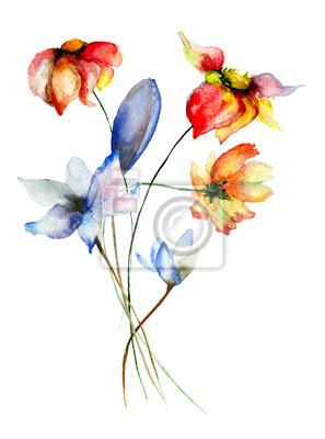 Stilisierte Blumen Abbildung