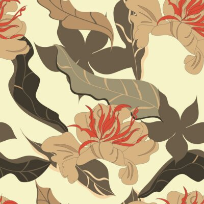 Stilisierte seamless wallpaper