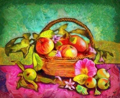 Bild Stillleben mit Äpfeln