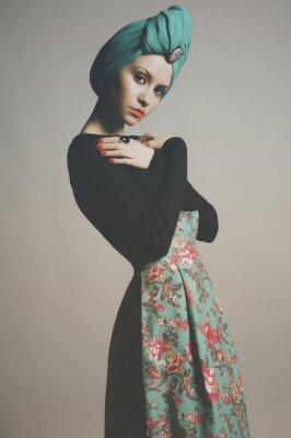 Bild Stilvolle raffinierte Dame