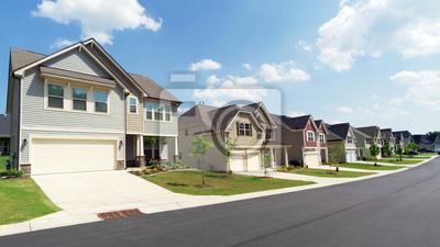 Bild Street of suburban homes