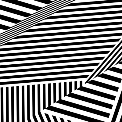 Bild striped background with stripes located at different angles.