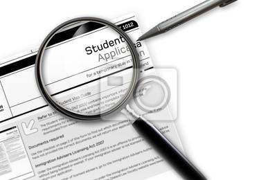 studentische Arbeit Visa Application