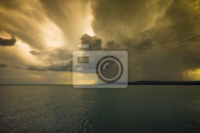 Sturm über den See Balaton