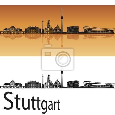 Bild Stuttgart Skyline
