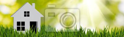 Bild stylized image of a house close up