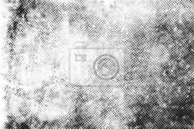 Bild Subtle halftone vector texture overlay. Monochrome abstract splattered background.