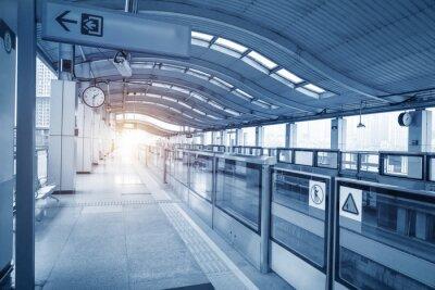Bild Subway station in chongqing ,china