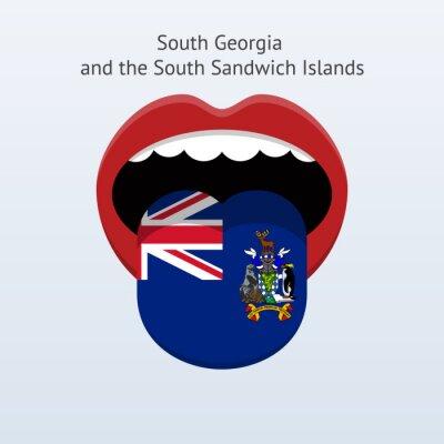 Südgeorgien und Sandwich-Inseln Sprache.