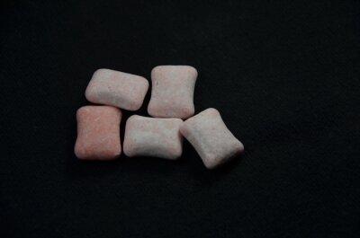 Bild sugar on white background