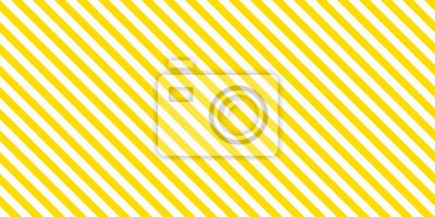 Bild Summer background stripe pattern seamless yellow and white.