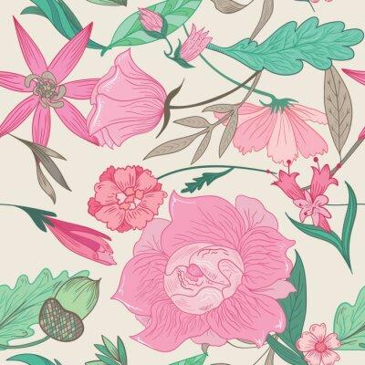 Bild Summer Pattern in Pale Colors