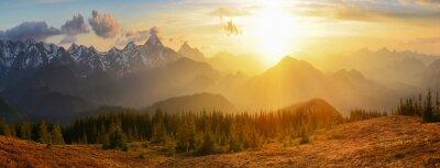 Bild Sunset Berge